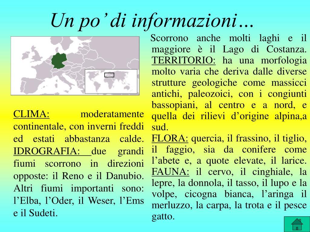 Un po' di informazioni…