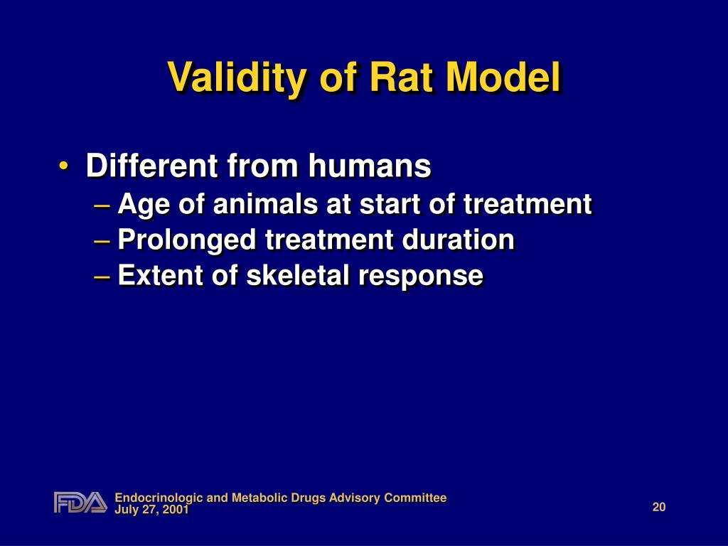 Validity of Rat Model