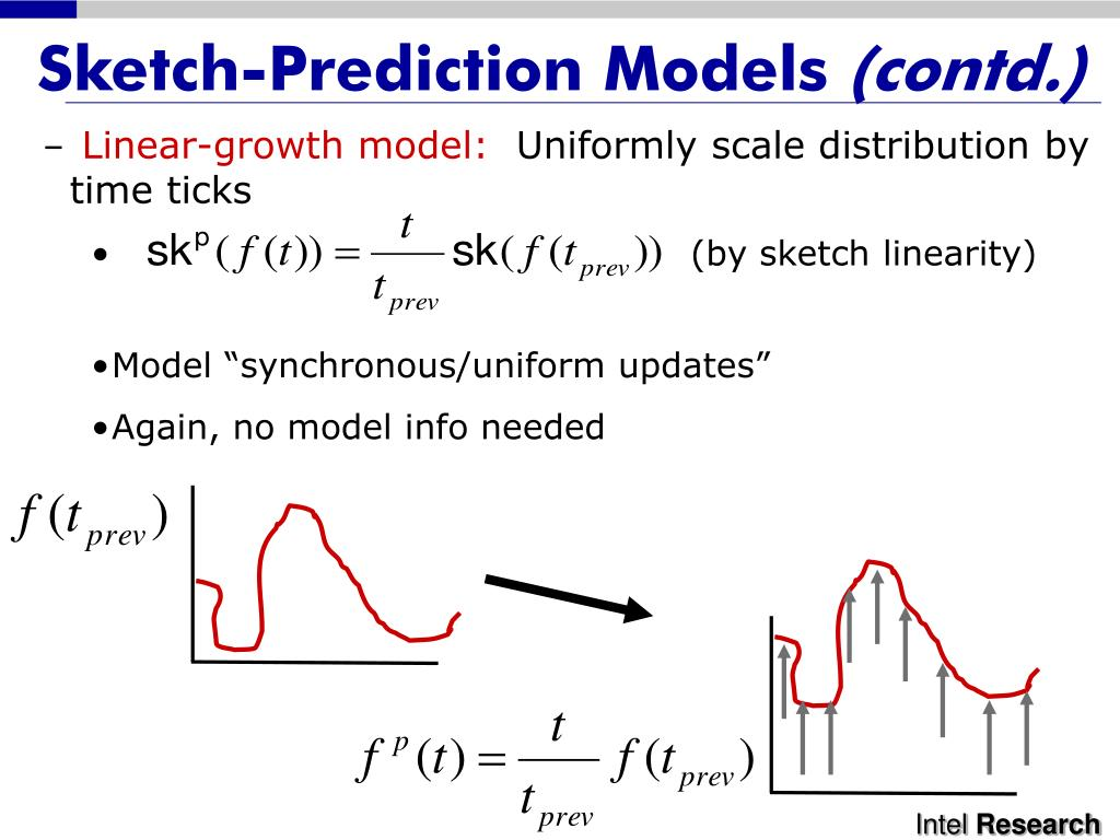 Sketch-Prediction Models