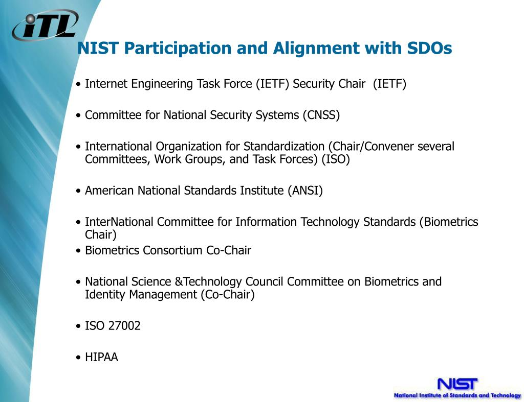 Internet Engineering Task Force (IETF) Security Chair  (IETF)