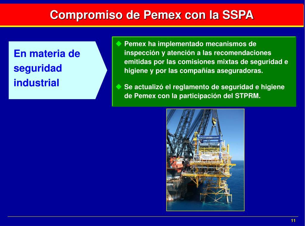En materia de seguridad industrial