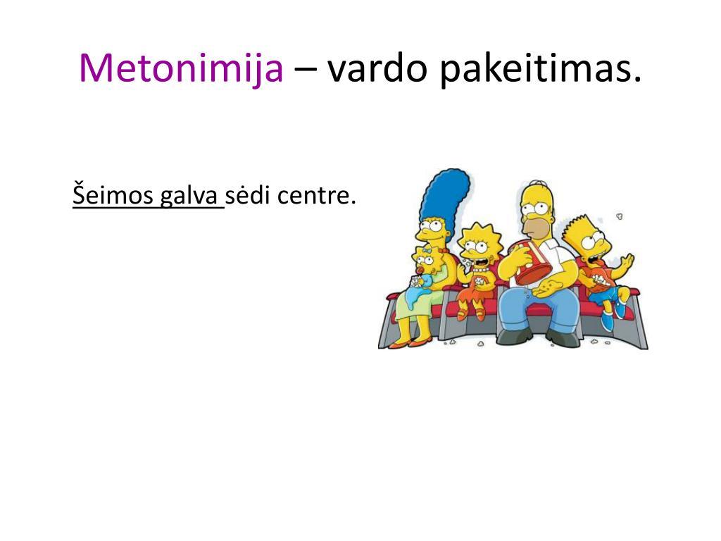 Metonimija
