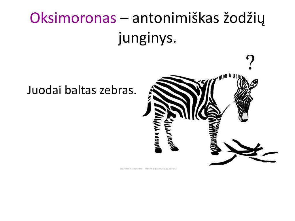 Oksimoronas