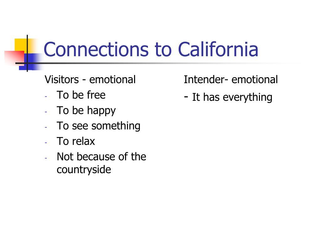 Visitors - emotional