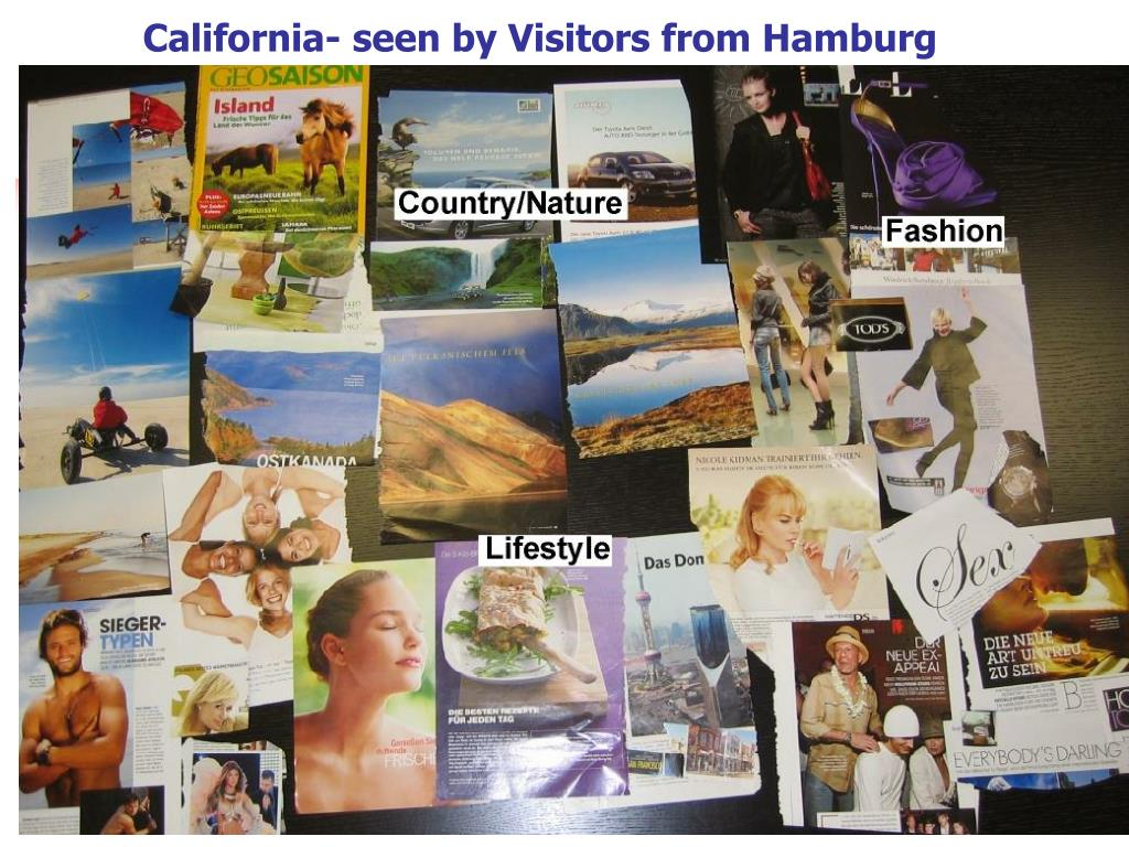 California- seen by Visitors from Hamburg