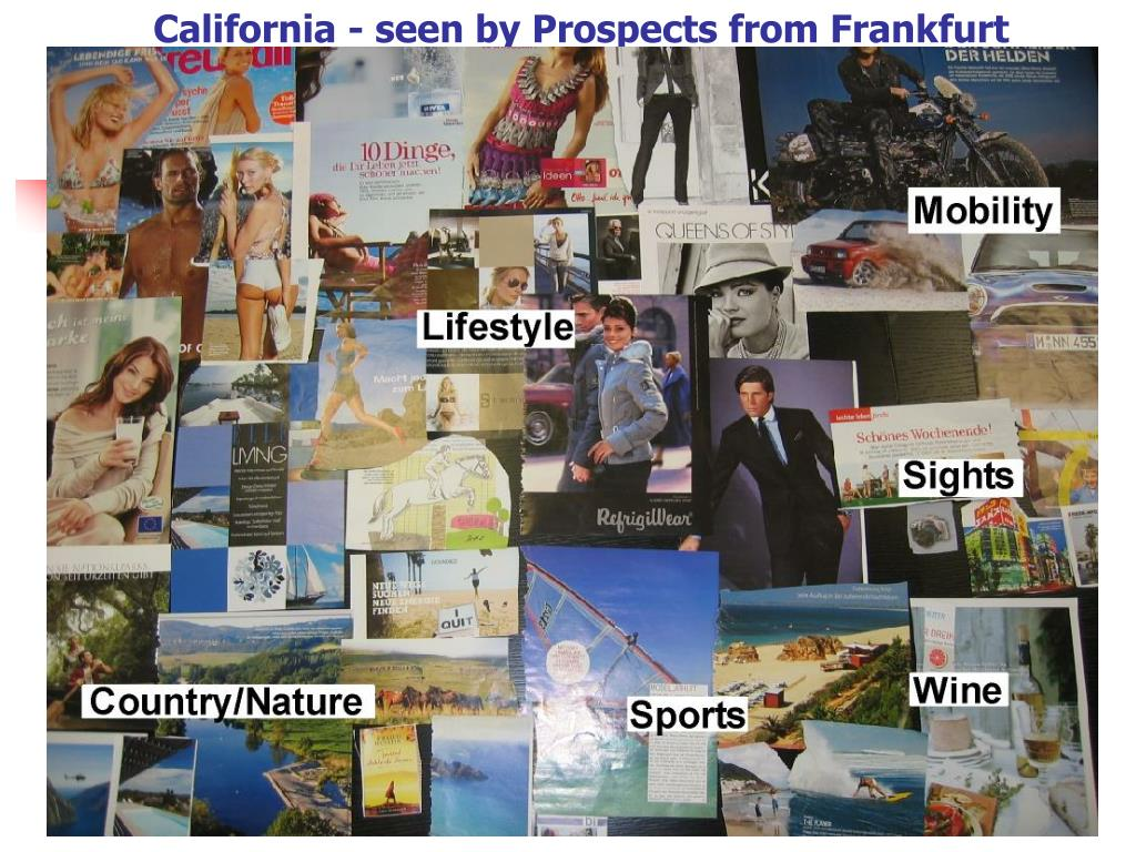 California - seen by Prospects from Frankfurt