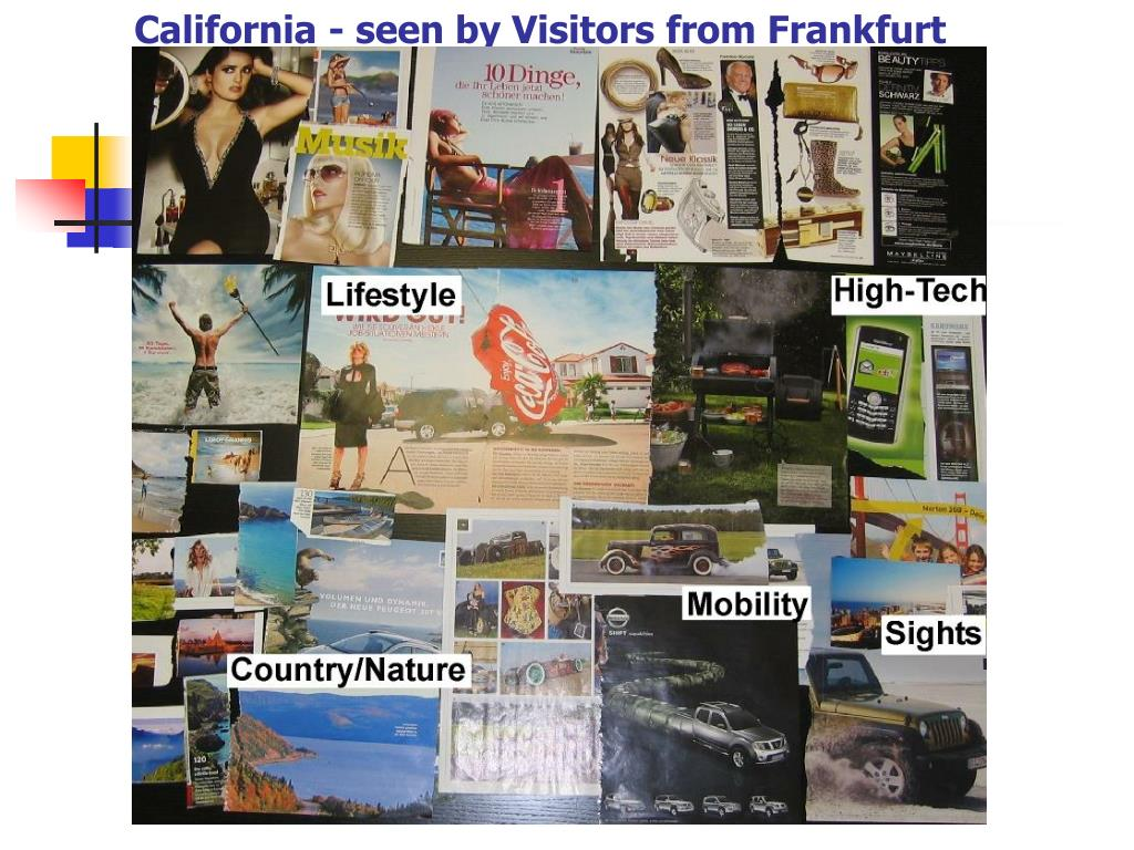 California - seen by Visitors from Frankfurt