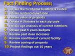 fact finding process