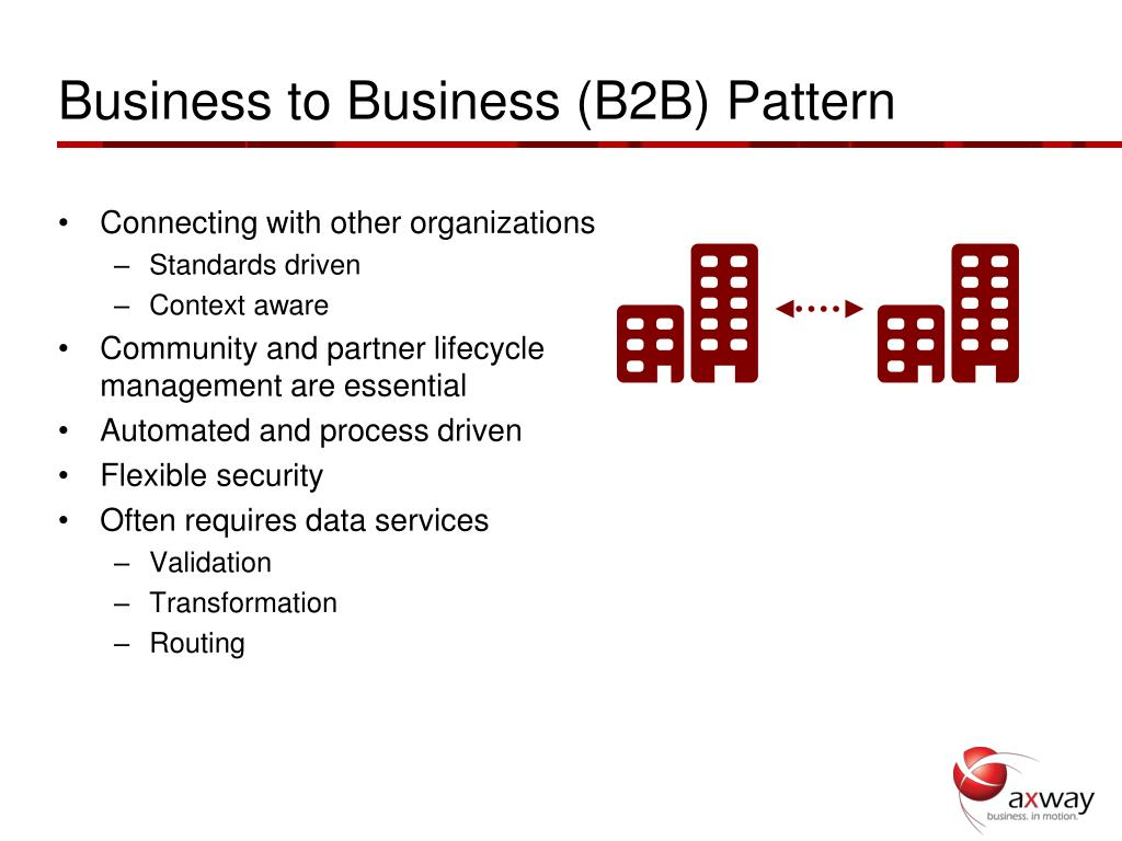 Business to Business (B2B) Pattern