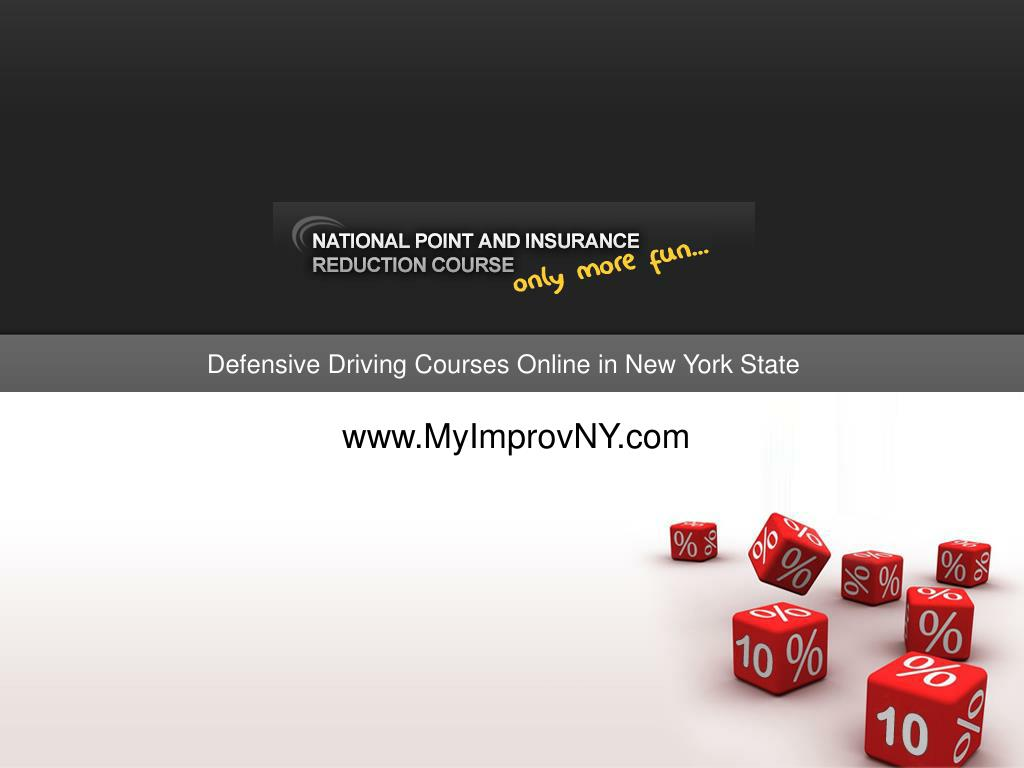 Defensive Driving Courses Online in New York State