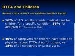dtca and children