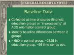 baseline data11