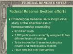 federal reserve system efforts4