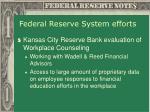 federal reserve system efforts5