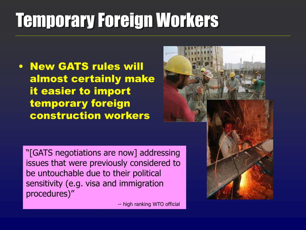 Temporary Foreign Workers