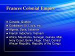 frances colonial empire