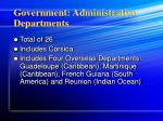 government administrative departments