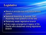 legislative
