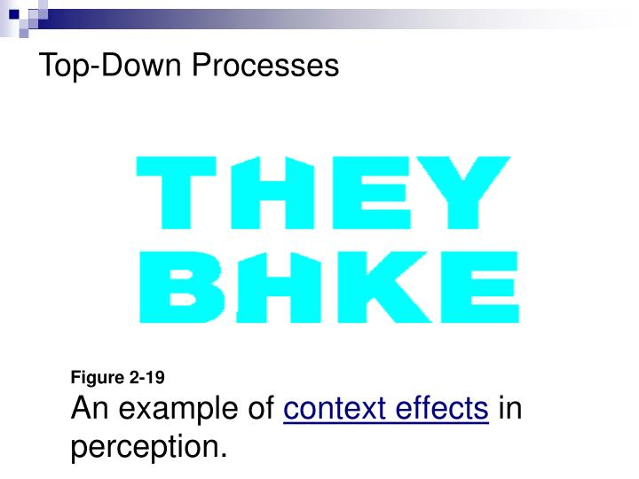Figure 2 19 an example of context effects in perception