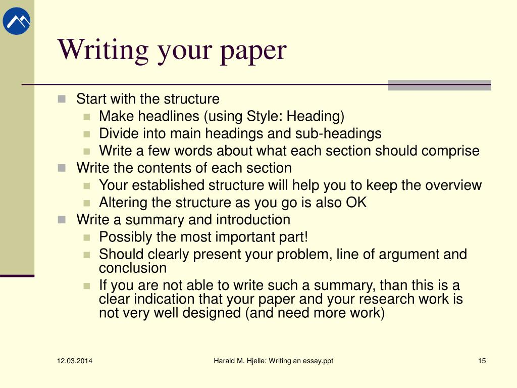Research report paper writing thesis writing ppt