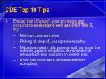 cde top 10 tips17