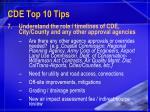 cde top 10 tips21
