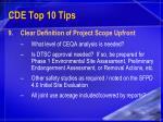 cde top 10 tips23