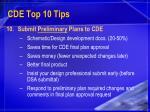 cde top 10 tips24
