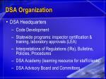dsa organization32