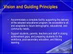 vision and guiding principles9