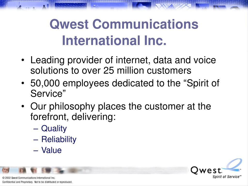 Qwest Communications International Inc.