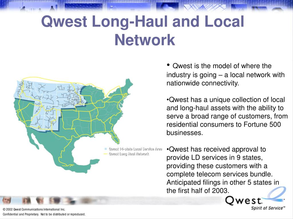 Qwest Long-Haul and Local