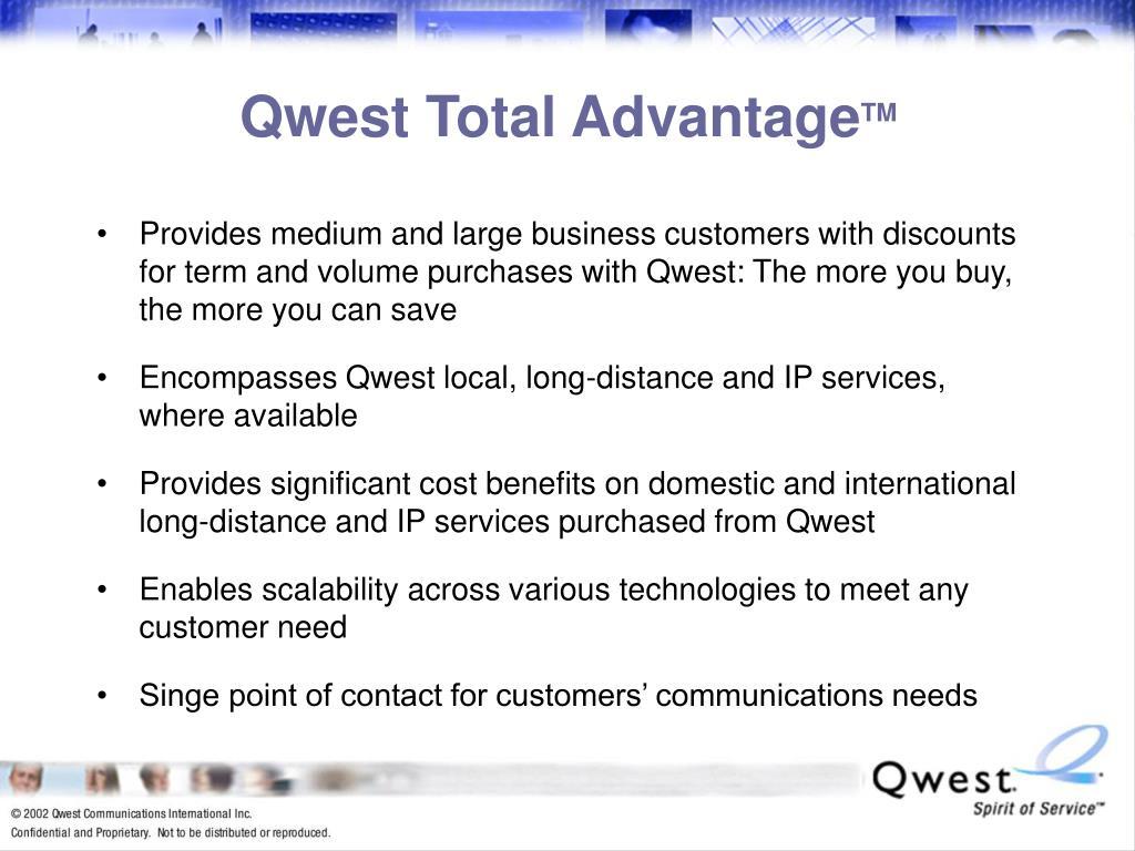 Qwest Total