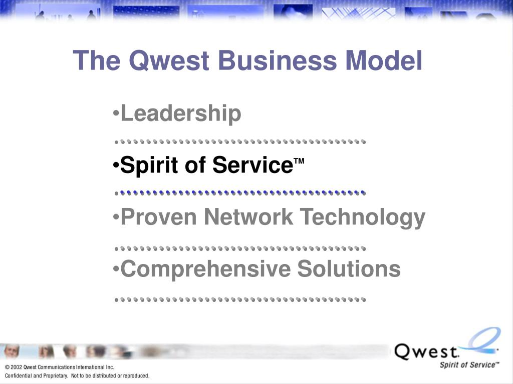 The Qwest Business Model