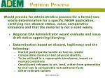 petition process