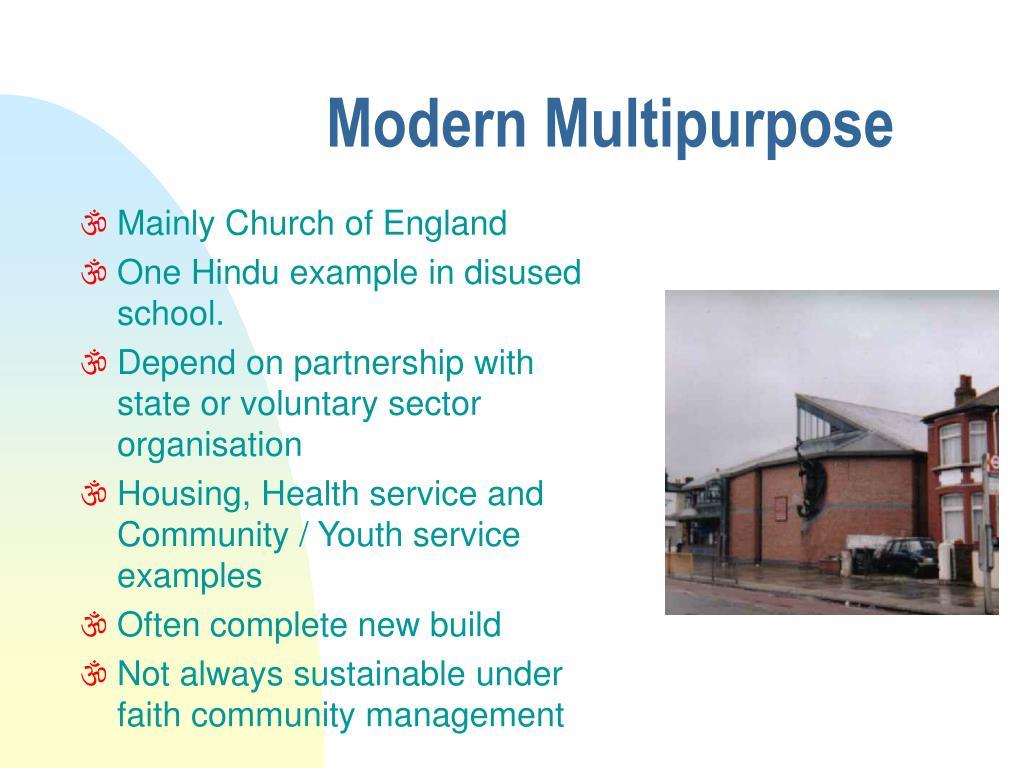 Modern Multipurpose