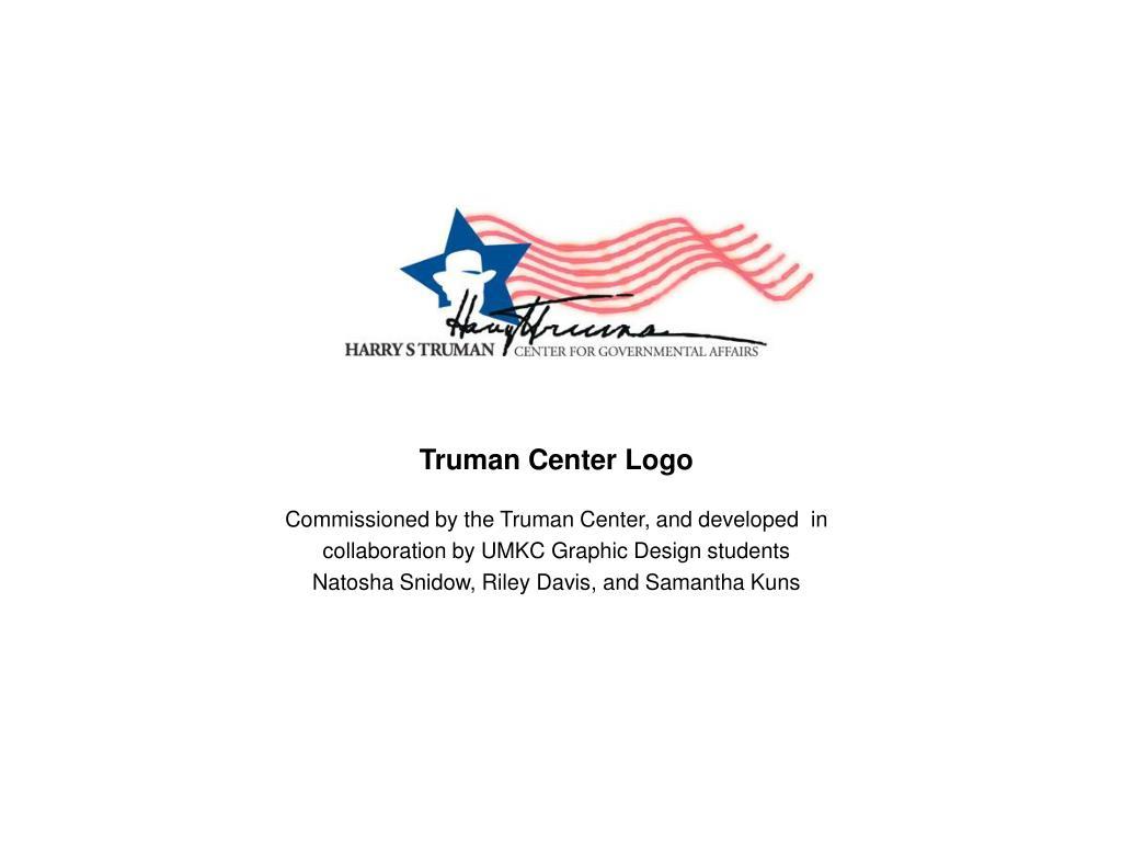 Truman Center Logo