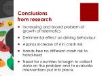 conclusions from research