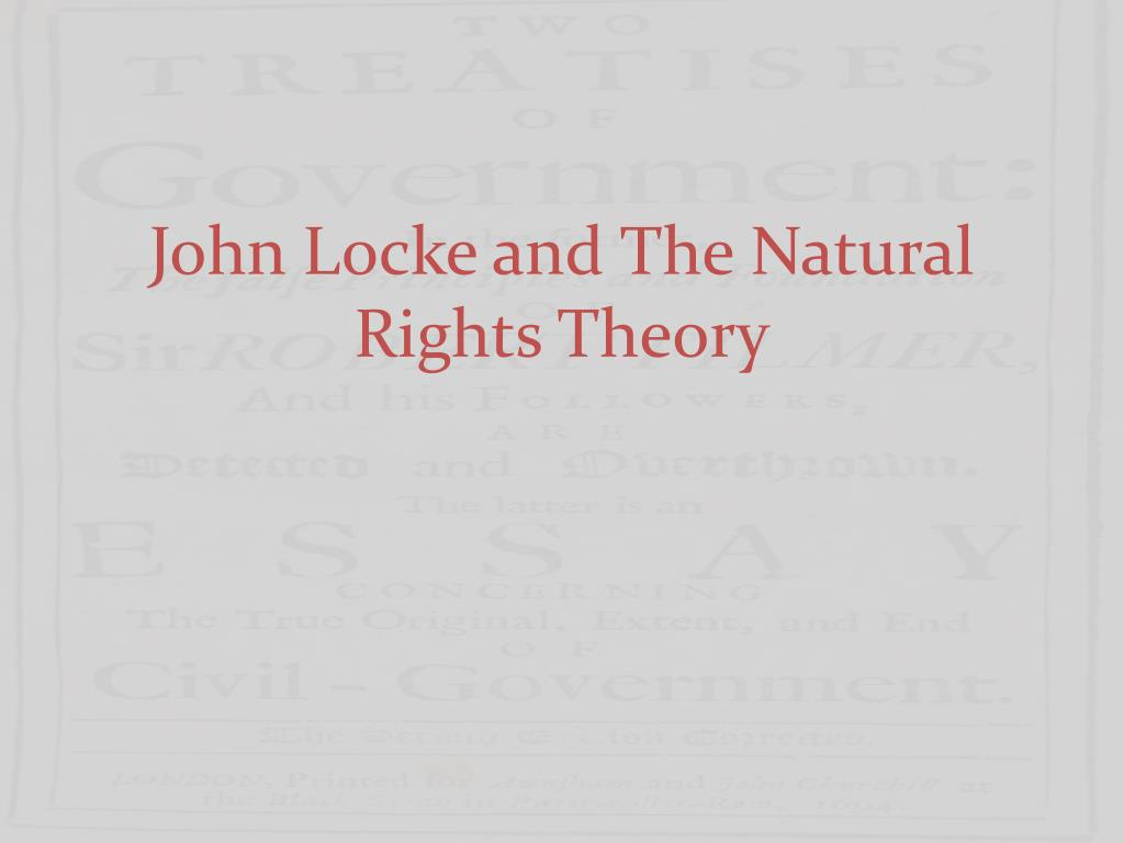 locke essays on natural law