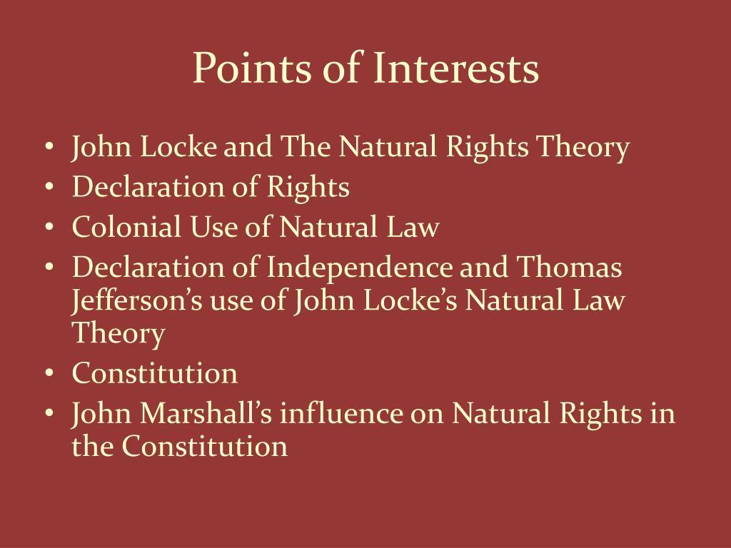 John Locke S Definition Of Natural Law