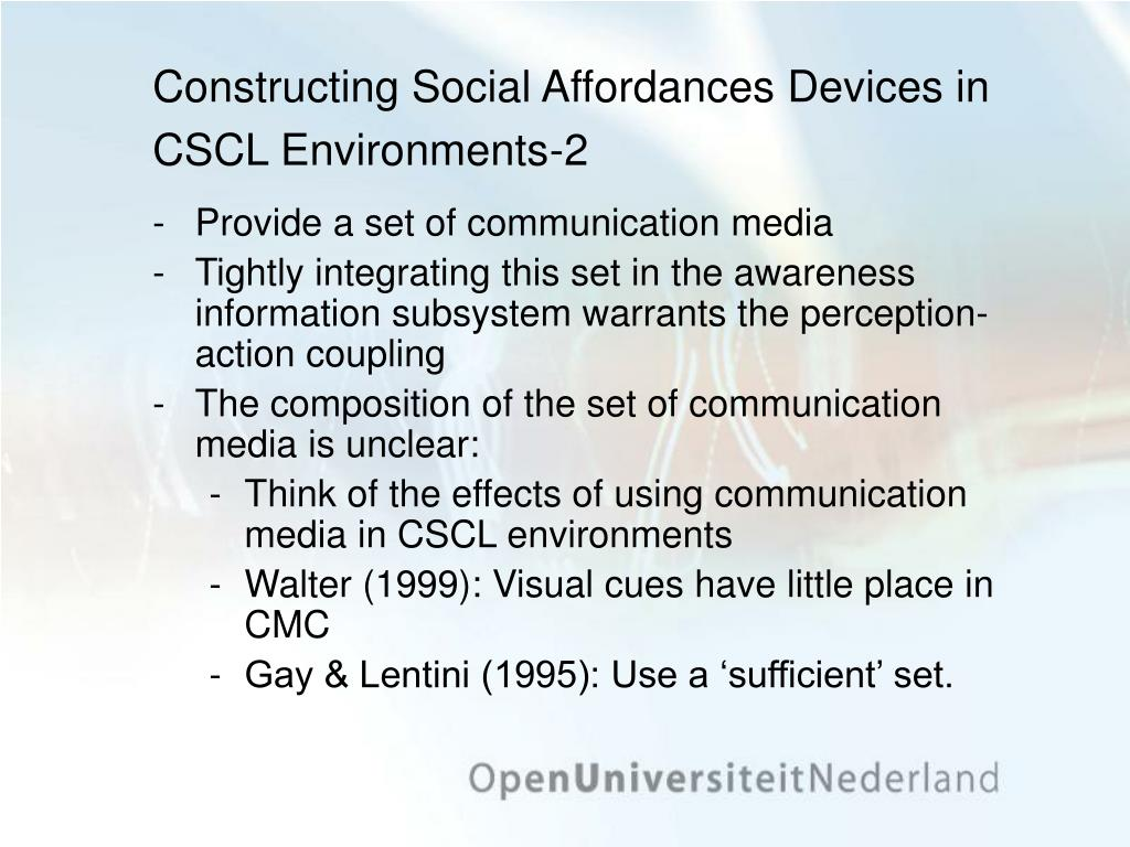 Constructing Social Affordances Devices in CSCL Environments-2