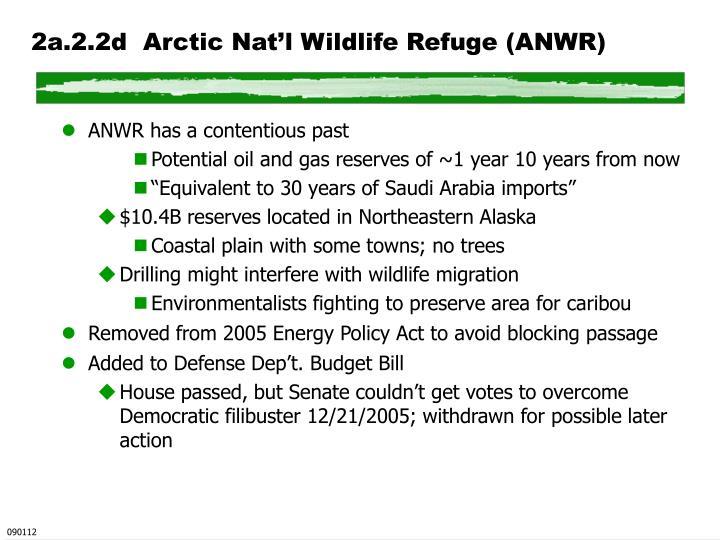 2a.2.2d  Arctic Nat'l Wildlife Refuge (ANWR)