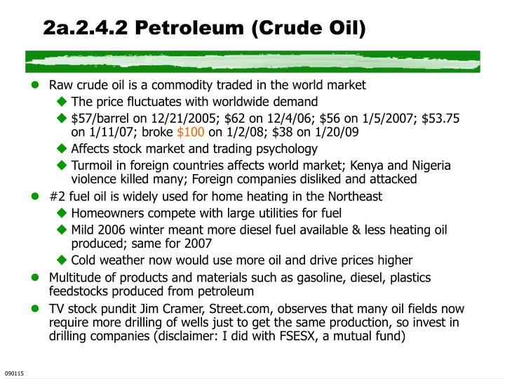 2a.2.4.2 Petroleum (Crude Oil)