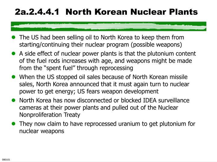 2a.2.4.4.1  North Korean Nuclear Plants