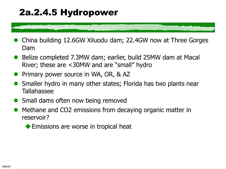 2a.2.4.5 Hydropower