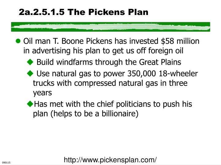 2a.2.5.1.5 The Pickens Plan
