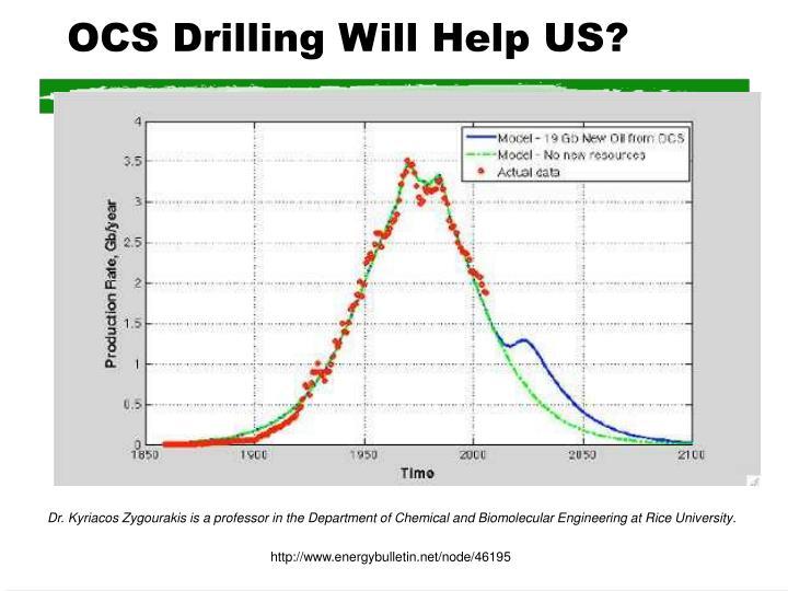 OCS Drilling Will Help US?