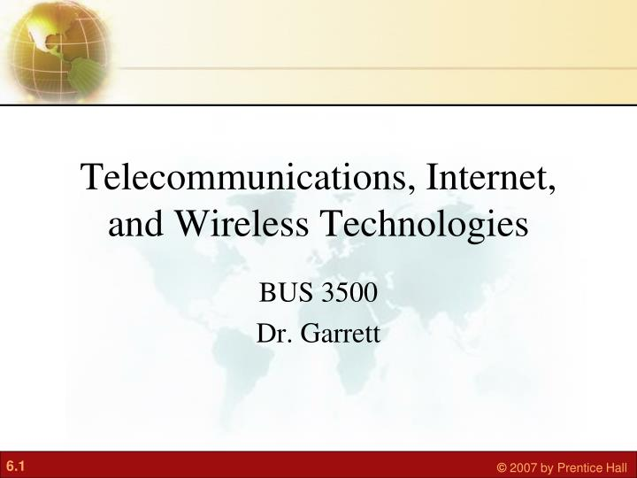 Telecommunications internet and wireless technologies l.jpg