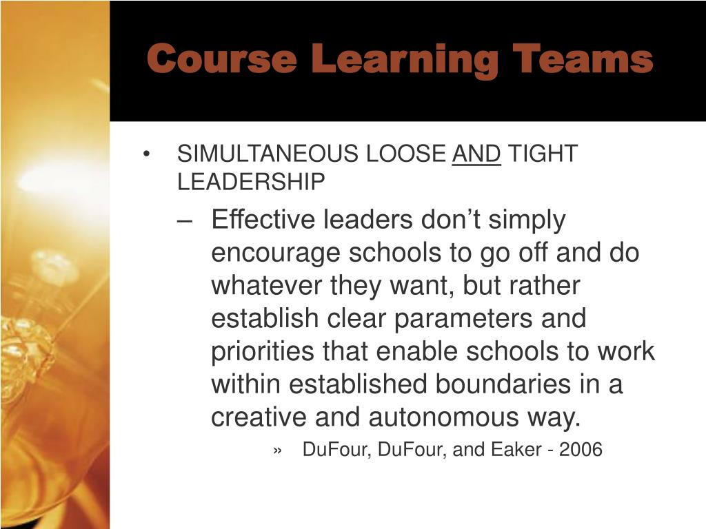 Course Learning Teams