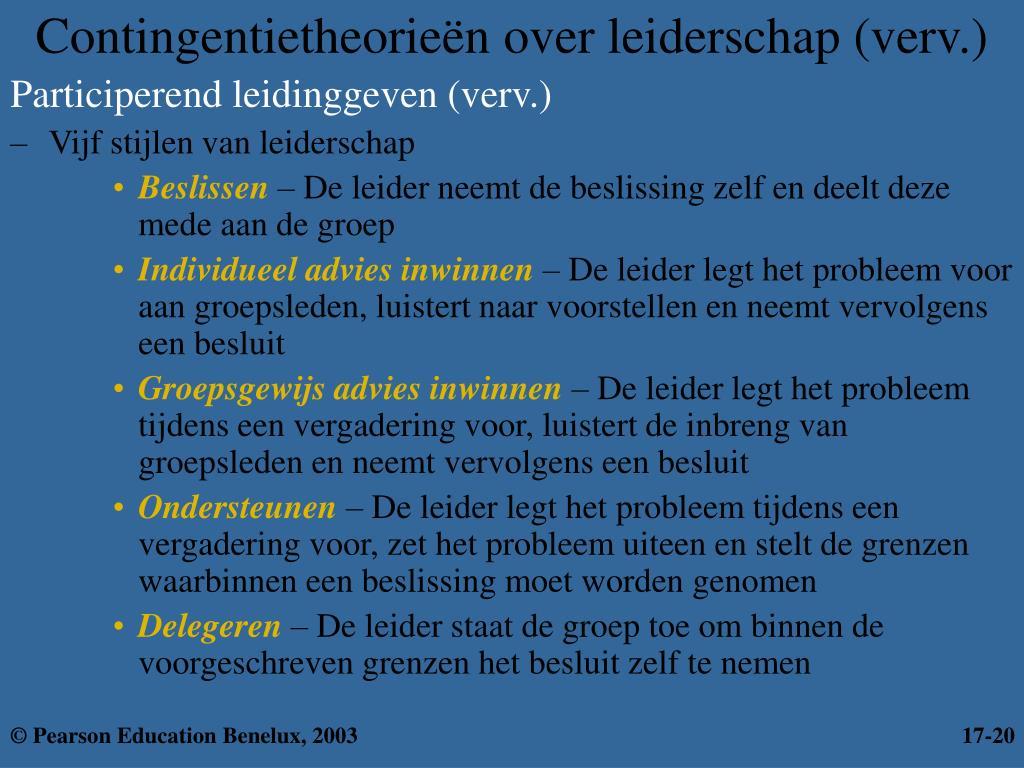 Participerend leidinggeven (verv.)